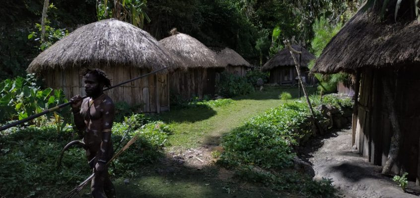Mendatangi kampung-kampung di Wamena